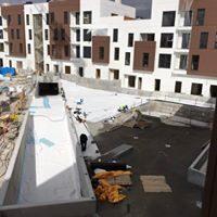 Impermeabilización de cubiertas y terrazas en Promoción de viviendas ANTON GREEN en Aranda de Duero – Burgos
