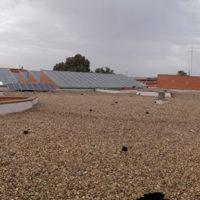 Restauración de cubierta Invertida GR en I.E.S. Juan Martín El empecinado de Aranda de Duero – Burgos