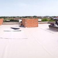 Ejecución de cubierta Invertida GR en vivienda unifamiliar en Laguna de Duero – Valladolid