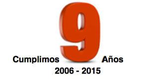 Cumplimos 9 años…