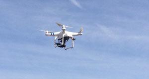 Norteña utiliza un Dron para captar imágenes de las cubiertas que realiza