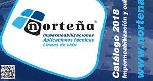 Norteña presenta su nuevo catálogo de impermeabilización