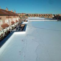 Impermeabilización de 29 viviendas Passivhaus en zona residencial Villimar de Burgos
