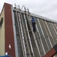 Instalación de Líneas de Vida en la fabrica de MERCEDES BENZ en Vitoria