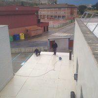 Restauración e impermeabilización de cubiertas planas en el IES VALLE DEL ARLANZA de Lerma – Burgos