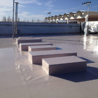 Impermeabilización de cubierta en Centro Deportivo Prado Sport