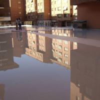 Impermeabilización de cubierta sobre local comercial en C.P. Burgo de Osma nº25 de Aranda de Duero