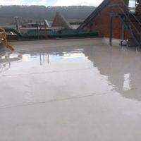 Impermeabilización de cubierta en fabrica UBISA – BEKAERT de Burgos