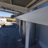 Instalación de línea de vida de rail en la fabrica de Chocolates TRAPA de Dueñas – Palencia