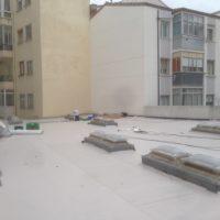 Impermeabilización de cubierta del Obrador de TUDANCA S.A. en Aranda de Duero – Burgos