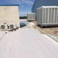 Impermeabilización de cubierta en fabrica de GESTAMP en Dueñas – Palencia