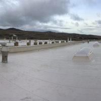 Rehabilitación de cubiertas en la fabrica de MUBEA en Agreda – Soria
