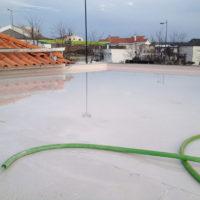 Impermeabilización de cubierta plana en Tanatorio de Mogadouro – Portugal