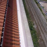 Impermeabilización de Pesebrón en el perimetro del edificio Rivalamora de Burgos