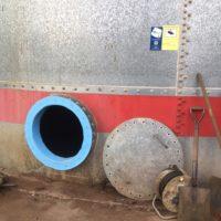 Impermeabilización de deposito PCI en la fabrica de KRONOSPAN de Salas de los Infantes – Burgos