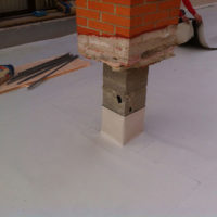 Sustitución de tejado inclinado por cubierta plana transitable