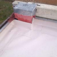 Impermeabilización de cubierta de intemperie en Bodegas NEO de Castrillo de la Vega – Burgos