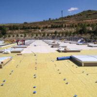 Ejecución de cubiertas DECK en nuevas instalaciones de HIPERBARIC en Burgos