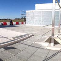 Ejecución de las cubiertas planas en la nueva fabrica de BEZOYA en Ortigosa del Monte – Segovia