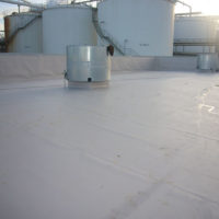 Ejecución de cubierta DECK en planta de Bioetanol de CyL