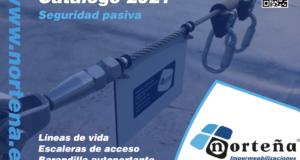 Nuevo catálogo 2021 de líneas de vida y sistemas de seguridad