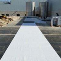 Rehabilitación de cubierta Invertida GR en Factoria Verdifresh de Aranda de Duero