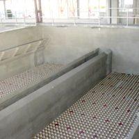 Impermeabilización de filtros de arena en ETAP MAJADAHONDA