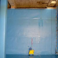 Impermeabilización de depósito de agua del Alto Oca